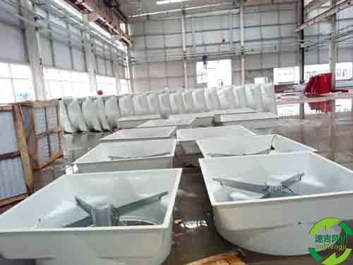 .3种规格的水帘,5类窗户负压风机现货订单生产