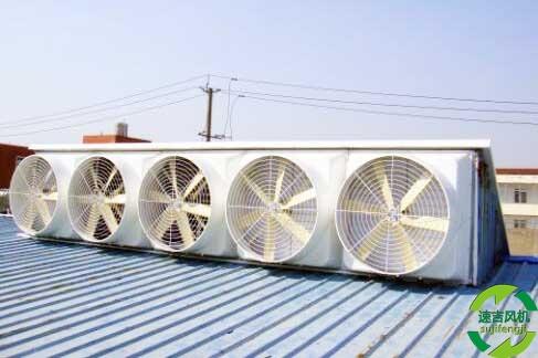 厂房车间通风降温选择水帘风机非常必要